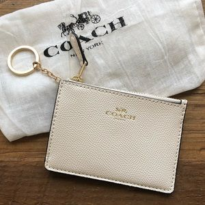 Coach Mini ID Key Chain
